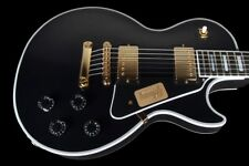 2017 GIBSON LES PAUL CUSTOM SHOP CUSTOM LIMITED EDITION ~ BLACK w GOLD HARDWARE