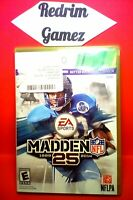 Madden 25 XBOX 360 Video Games