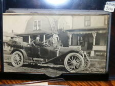 #3220,Real Photo,Man in Vintage Auto 1913 Barberton, Ohio