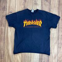 Vintage Thrasher Magazine Skateboarding Graphic T Shirt Size L