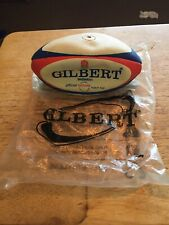 Vintage Early 90s Gilbert Barbarian Mini Rugby Ball
