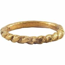 ANCIENT VIKING TWISTED RING C.850-1050 AD SIZE 9