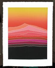 SUNRISE - Rare Serigraph Beautiful Quality Mint Print s/n By Arthur Secunda
