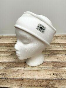 TURTLE FUR CHELONIA 150 Fleece Double Layer Band Headwear Headband NEW White