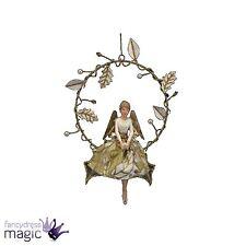 Gisela Graham Draht Kranz Weihnachten Weihnachtsbaum Taube Gold Heilig Engel