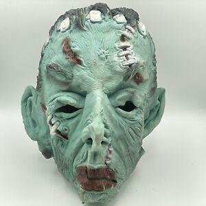 Vintage 1980's Topstone Frankenstein Halloween Latex Mask