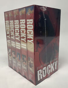 Rocky 1-5 VHS Commemorative 25th Anniversary Gift Set NEW SEALED