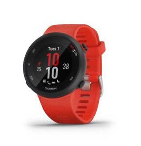 Garmin Forerunner 45 Watch - Large - Lava Red