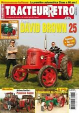 Tracteur Rétro n°32, David Brown 25, Claas Hercules et SF 55, Same, Tractocote
