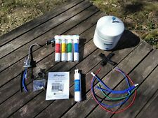 Watts RO-Pure 531411 4-Stage Reverse Osmosis Water Filtration System w/ Faucet