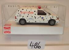Busch 1/87 Nr.44653 Dodge Ram Van Fire Safety Education OVP #486