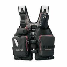 SHIMANO XEFO Fishing Vest VF-278R PVC Free size Japan NEW