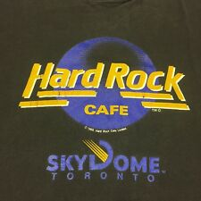 Vintage Hard Rock Cafe Sky Dome Toronto T-shirt Restaurant Deli Casino Bar Band
