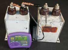 2uf Mfd 4kvdc High Voltage Oil Filled Energy Storage Capacitor Tested