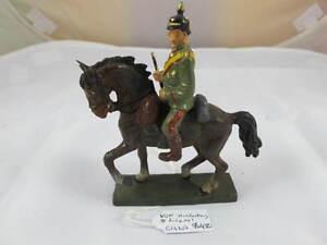 GERMAN LINEOL VON HINDENBERG ON HORSE C1930'S