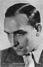 B10549 Actors Acteurs Cinema Filme Lucien Gallas