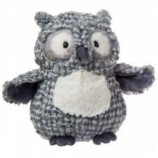 Mary Meyer Owl Bandit Bird Gray Cream Stuffed Animal NEW