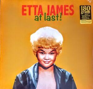 "ETTA JAMES - AT LAST 180 GRAM VINYL LP "" NEW, SEALED """