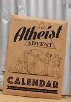 Funny Atheist Advent Christmas Calendar, Secret Santa, Funny Adult Gift,