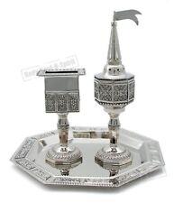 Traditional Candle Spices Havdalah Set Kiddush Cup Fragrance Judaica Kabbalah