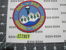 Special Forces Group ODA-753 patch 7th SFG MAROPS RoughTerrain A/B Mountain Team