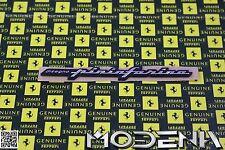 Ferrari Emblem disegno Pininfarina Ornament 360 Modena 430 456 550 575 612 F50