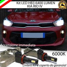 KIT FULL LED KIA RIO MK4 IV LAMPADE ANABBAGLIANTI LED HB3 6000K NO ERROR