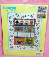 New Janlynn Sweet As A Cupcake Baby Birth Announcement Counted Cross Stitch Kit
