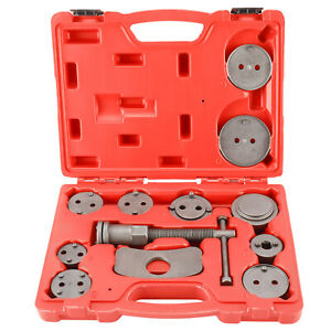 12Pcs Disc Brake Caliper Wind Back Universal Tool Piston Pad Car Truck Mechanics