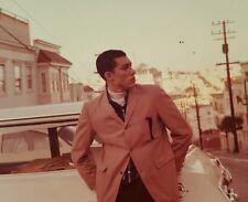 VINTAGE AFRICAN AMERICAN HANDSOME GQ MAN SAN FRANCISCO? CA ARTISTIC FINE PHOTO