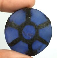 Discounted Offer 81.75 Ct Natural Trapiche African Round Shape Blue Sapphire Certified Loose Gemstone MD980