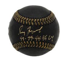 Greg Maddux Signed Atlanta Braves Rawlings OML Black MLB Baseball w- Insc