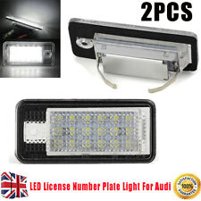 For Audi License Number Plate Light Rear Canbus 18 LED For Audi A4 A6 S3 S6 Lamp
