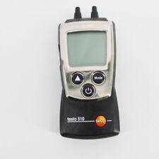 Testo510 Temperature Compensation Manometer Digital Auto-Ranging Pressure Meter