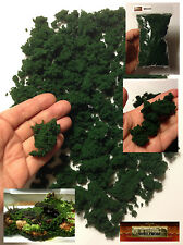 M00254 MOREZMORE Faux Fake Artificial Moss RIVER BANK Foliage Dark Green A60