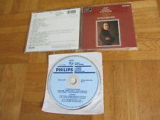 ALFRED BRENDEL LISZT Sonata WEST GERMANY Phillips BLUE FACE 1st press CD album