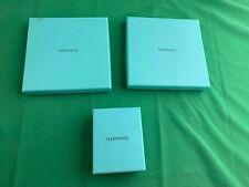 (LOT OF 3) TIFFANY & Co *EMPTY* Flat GIFT CARD BOX