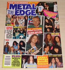 METAL EDGE MAGAZINE JULY 1994 DIO SOUNDGARDEN ANTHRAX PANTERA SCORPIONS CRUE