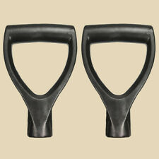 2x Shovel D Grip Handle Scoop Pull Lift Handle Pole Grip Back Saver Us
