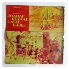 Jhanak jhanak Payal Baaje 1955 Sandhya Bollywood Rare LP Vinyl Record ECSD5801