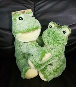 "Kellytoy Wags Purrs Dog Toy Squeaky Frog 7"" , 9""  New"