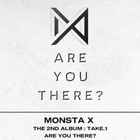 Monsta X Take.1 Are You There? 2nd Album CD+Photobook+Photocard+Etc+Track Number