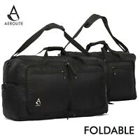 Aerolite Foldable Fashionable Holdall Flight Carry On Hand Luggage Cabin Bags