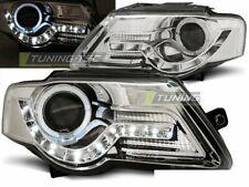 OFFER Headlights LED DRL Look VW PASSAT B6 3C 2005-2010 Daylight Chrome IT LPVWF