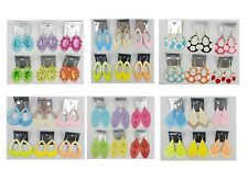 A-90 Wholesale Jewelry lots 60 pairs Mixed Style Colorful Drop Fashion Earrings