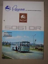 PEGASO  model 5061 DR  coach  dépliant/brochure/Prospekt   1970.