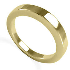 18k solid gold 4 to 9.5 #R1142 Men's or women's wedding ring plain and simple