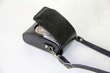 Leather case bag for Olympus VR-330 VR-320 VR-310 SH-21 U9010 U7040 TG805 camera