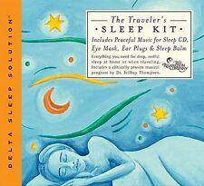 TRAVELER'S SLEEP KIT - Jeffrey Thompson . NEW .insomnia