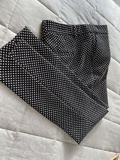 Next patterned suit slim fit women's trousers size 8R new